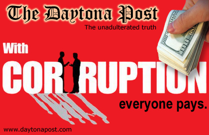 The Daytona Post, Daytona Beach News, exposing corruption and malfeasance in Daytona Beach